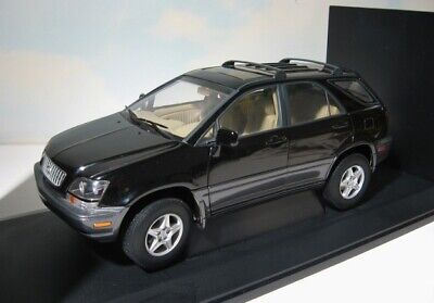AutoArt  Lexus RX 300  1:18 Auto Art  1998 SUV diecast   Black   Mint in Box