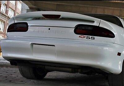 93-02 CAMARO smoked tinted tail light covers vinyl plus rear markers & third Camaro Tail Light Covers