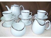 1970s Thomas 16-piece complete coffee set