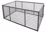 Brand New Galvanised Cages to suit box trailers 8ft x 5ft 8x5 900 Noble Park North Greater Dandenong Preview