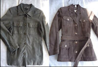 Leather & Suede Ladies Jackets in size Small, MINT