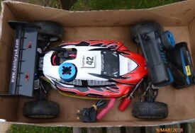 BSD Compression 1/8 Pro Nitro RC Buggy PRICE REDUCTION*****
