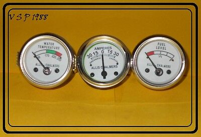 Allis Chalmers 170 175 180 185 90 200 210 220 Temp Fuel Gauge Amp