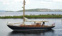 VERRY RARE... Bluenose Class Classic Chester Nova Scotia  Sloop