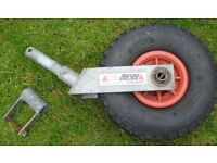 WANTED: Jockey wheel and mounting bracket for Dinghy trolley