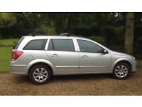 Vauxhall Astra (diesel) estate, 89,450 miles, Full service history