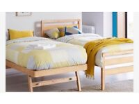 Single/twin Guest Bed with 2 mattresses BN & boxed