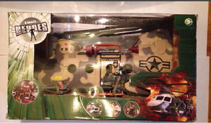 True Heroes Freedom Force Helicopter 2012  gi joe ko