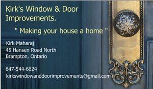Windows and doors !
