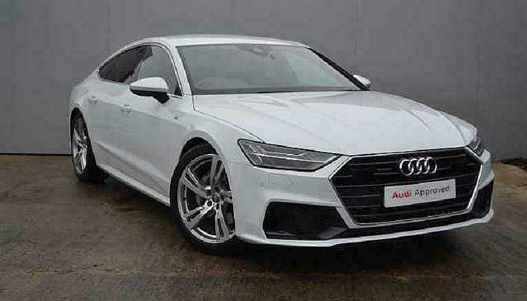 2019 Audi A7 Sportback S Line 50 Tdi Quattro 286 Ps Tiptronic Diesel White Autom In Aylesbury Buckinghamshire Gumtree