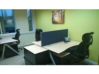 Business centre creates a corporate business image for small and larger companies.