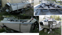 16ft boat and trailer  trade for a trailer