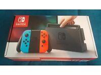 Nintendo Switch - Neon Red/Neon Blue