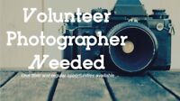 charity seeking volunteer photographer for community service hrs
