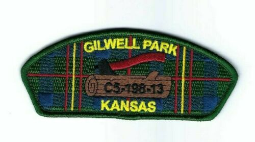 Boy Scout Patch Quivira Council Woodbadge SA-47 CSP Gilwell Park