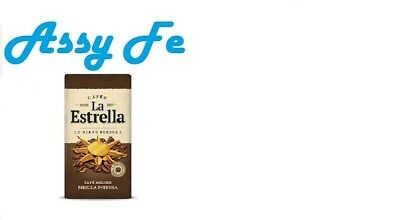 Cafe molido mezcla 50% torrefacto roasted La Estrella 250gr Spanish ground Coffe