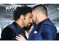 David Haye vs Tony Bellew Ticket FACE VALUE OR MAKE OFFER