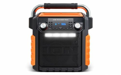 ION Audio Job Rocker Max (Orange) Wireless All-Weather Rugged Speaker