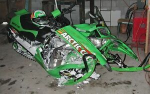 LOOKING TO BUY SMASHED OR BLOWN UP SLEDS.