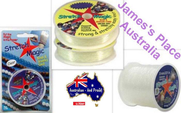 Jewellery - Beading Elastic - Jewellery Elastic - Stretch Magic