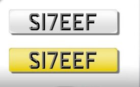 PRIVATE REG FOR SALE 'S17EEF' (SAIF)