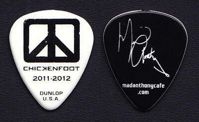 Chickenfoot Michael Anthony Signature White Guitar Pick - 2012 Tour