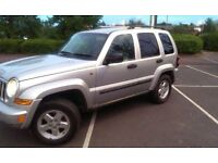 Jeep Cherokee CRD Sport 2007 With Towbar