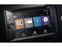 Sony Double Din Touch Car Stereo, Bluetooth NFC - Like New Still in Warranty