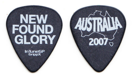 New Found Glory Australia Tour 2007 Guitar Pick - NFG