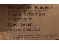 Shed Seven Tickets, Manchester, Friday 22nd