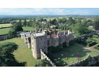 Hotel Receptionist at Thornbury Castle, near Bristol