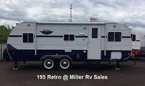 Travel Trailer Retro