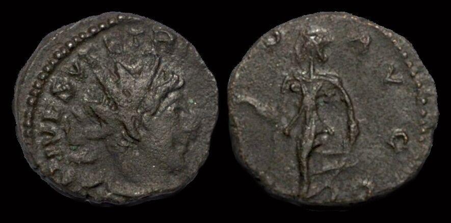 Tetricus II billon antoninianus Spes advancing left