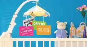Free - contests and coupons and Stuff for Babies! Windsor Region Ontario image 1