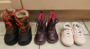 Baby - toddler shoes boots size 4 - 5