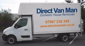 Cheap Man and Large Box Van- House Removals Moves/Single Furniture Deliveries/Transport Hire Service