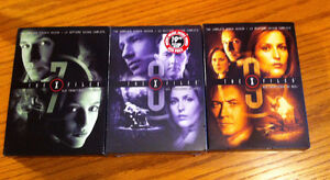 DVD season set 7, 8, and 9   X Files