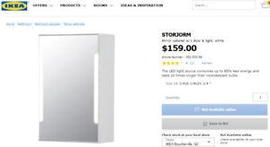 NEUF IKEA STORJORM pharmacie valeur 159$+taxes