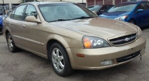 2004 Chevrolet Epica - Fully loaded - Sunroof
