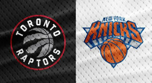 2-4 New York Knicks v Toronto Raptors - Nov 10 - Upper + Lower