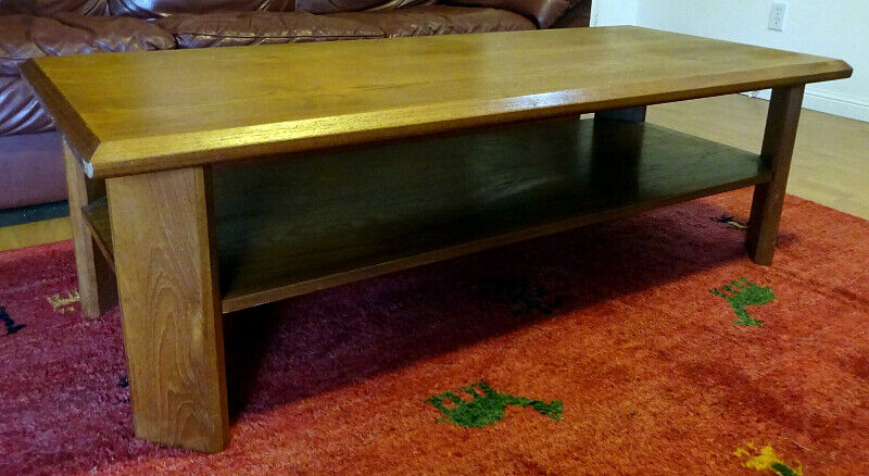 Vintage Teak Coffee Table | Coffee Tables | Oakville ...