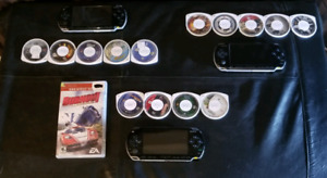 PSP + games bundles 55$
