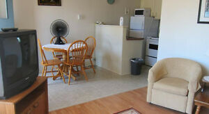 1 Bedroom Furnished Includes Heat, lights, cable, wifi, parking