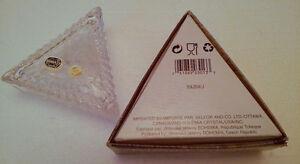Brand new in box Bohemian crystal Triangular keepsake box London Ontario image 8