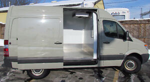 2010 Mercedes-Benz Sprinter Van 144 high roof Minivan, Van