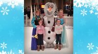 Frozen Birthdays, Mascots, Face Painting & More !