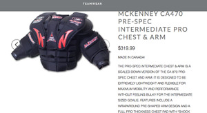 McKenney Chest protector Int Large
