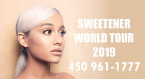 ARIANA GRANDE : SECTIONS ROUGE ET PARTERRE !!!