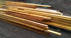 Pressure Treated Lumber – assorted sizes - new