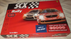 SLOT CARS set SCX C1 Rally (NEUF / New ) West Island Greater Montréal image 1